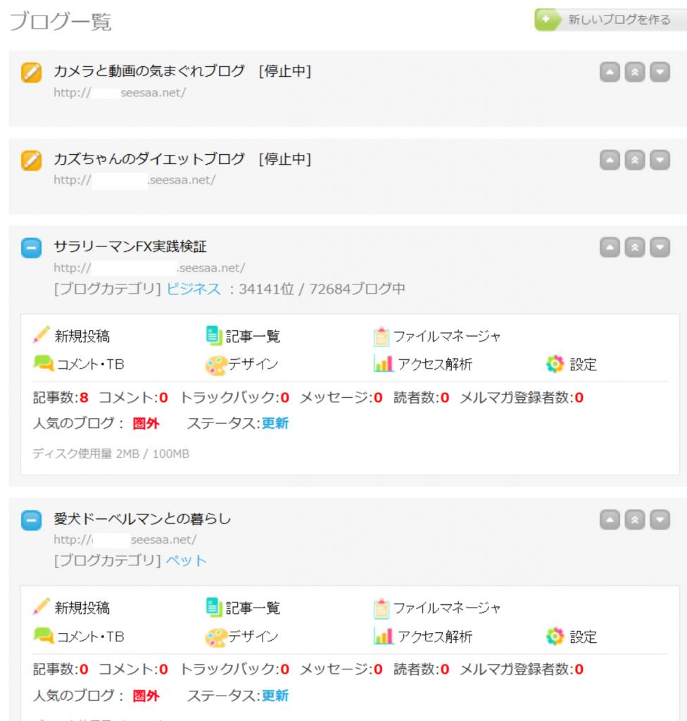 新規シーサーブログ